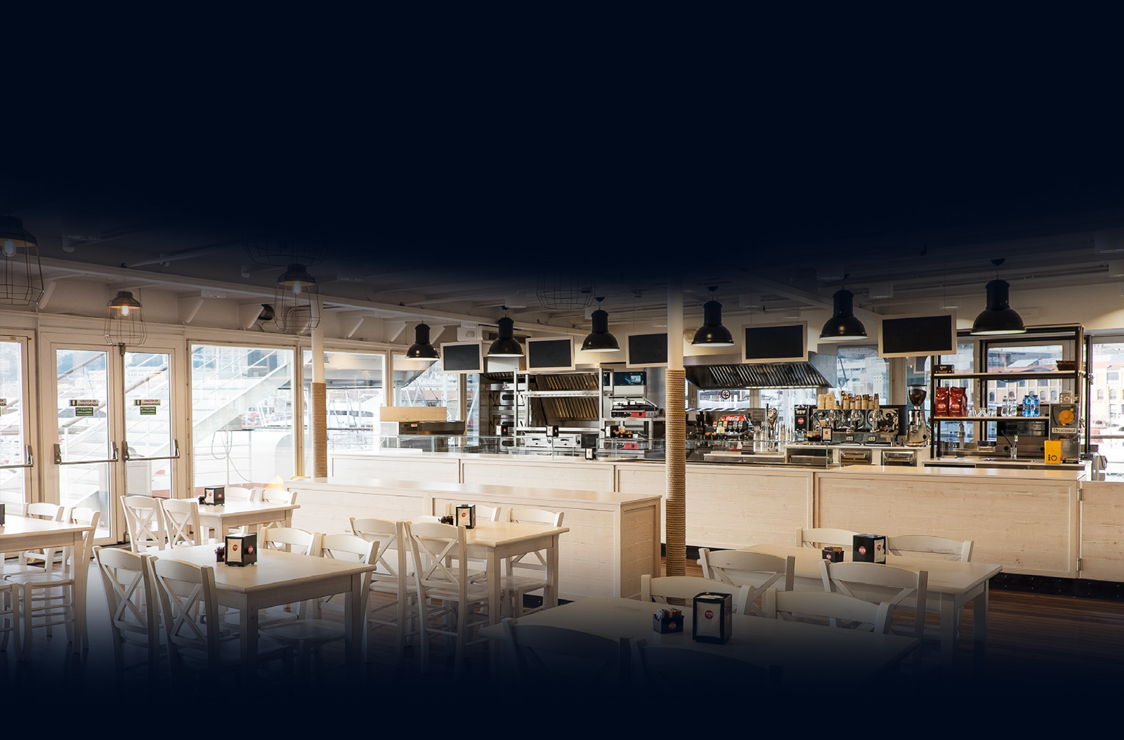 Acquario di Genova - new catering tender cafe